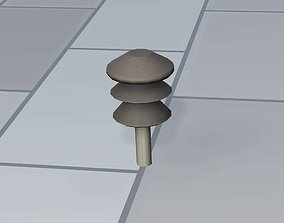 3D model Electricity Poles Insulator 3 - Object 081