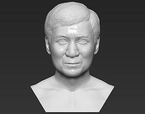 Jackie Chan bust 3D printing ready stl obj