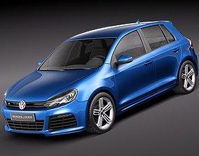 Volkswagen Golf R- 3D