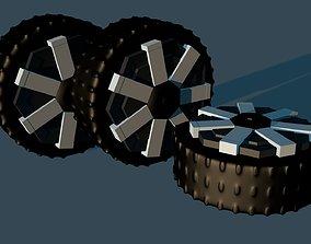 Cybertruck wheels - elon musk 3D printable model