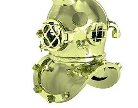 3D print model exclusive deep-water diver