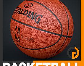 3D Spalding NBA Official Game Ball