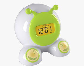 Children alarm clock 3D model