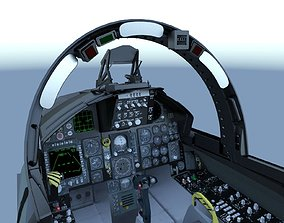 F-15C Cockpit 3D model 15c