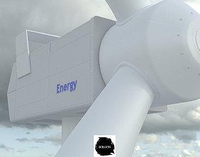 3D Wind Rouse - Energy - Turbine