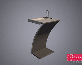 Bathroom Sink 01 3D model