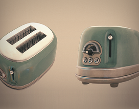 3D asset Retro Toaster