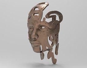 3D printable model STL MASK - Adam