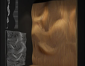 parametric wall furniture 3D