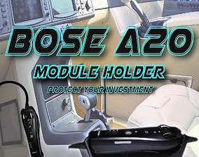 3D Bose A20 aviation headset Clip in holder