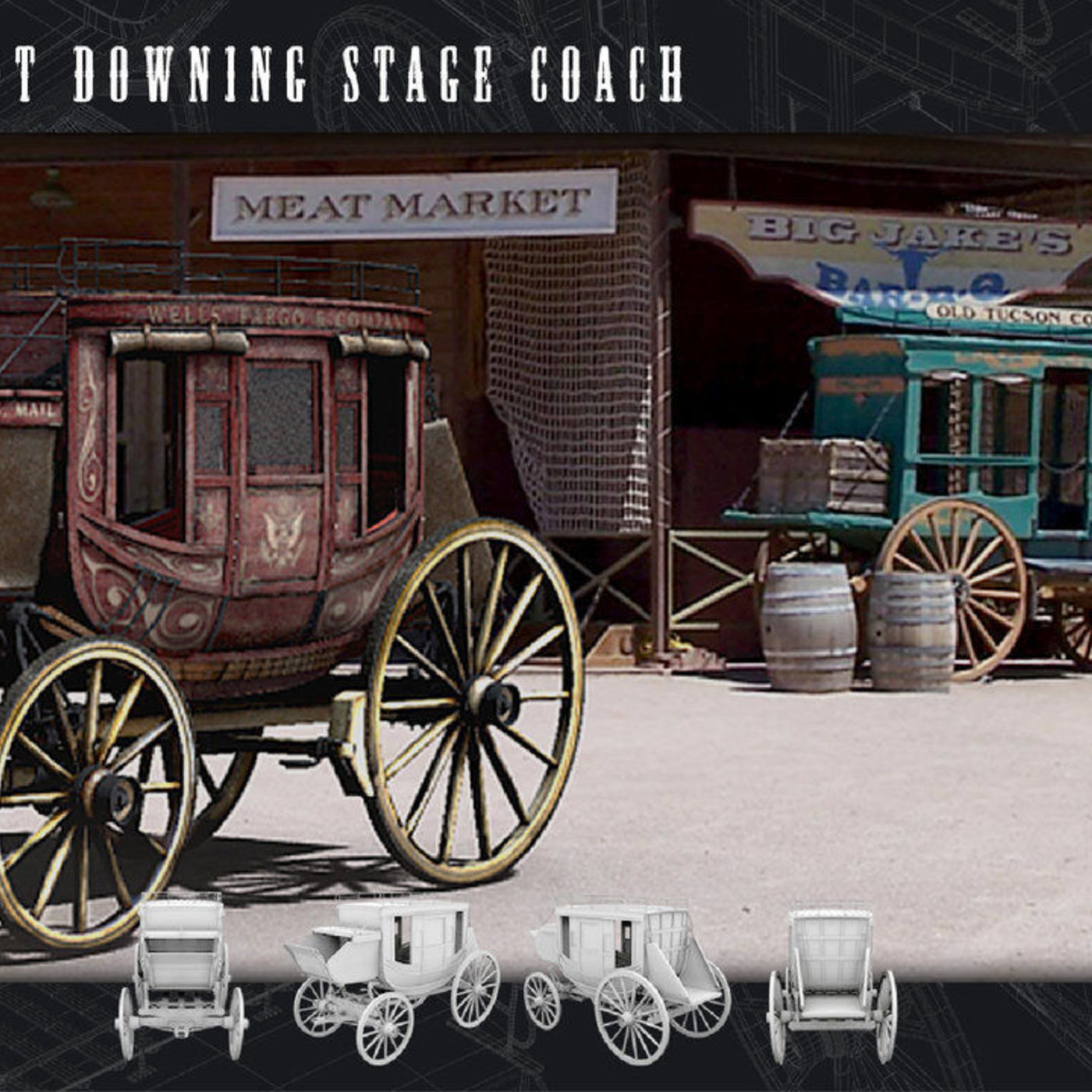Abbot Downing Stage Coach