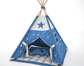 3D Star Tent for kids