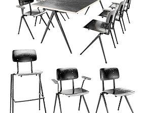 3D model Furniture Set Galvanitas