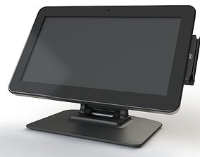 POS terminal monitor 15 inches 3D
