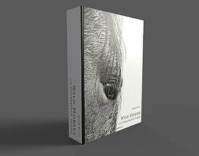 3D model Wild Horses of Cumberland Island Hardcover Book