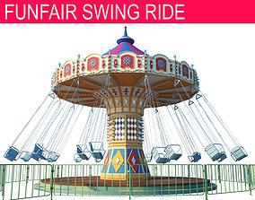 3D Funfair Swing Ride