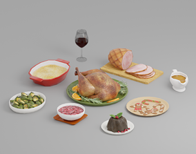 Holiday Foods G37 3D model
