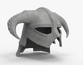 3D print model Viking Warior Helmet with Horns