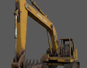 Rusty Digger 3D asset realtime