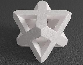 Merkaba Sculpture 3D print model