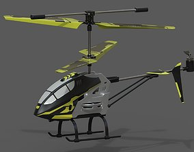 3D asset Aviator Helicopter Drone