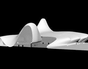 3D model Heydar Aliyev Center