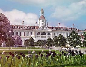 exterior 3D Palace