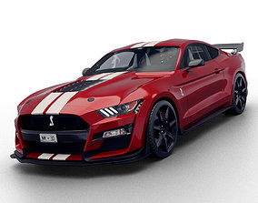 3D Ford Mustang Shelby GT500 2020