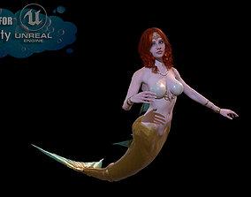 3D model MermaidGameReady