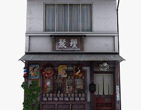 3D model Old Tokyo Barber shop