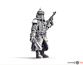 Valour Korps - Sergeant Bernhard 3D printable model