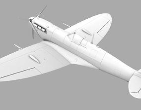 SUPERMARINE SEAFIRE MK IIC 3D
