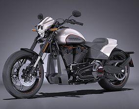 Harley Davidson Softail FXDR 2019 3D model