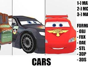 3D asset mcqueen Carss