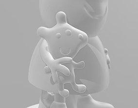 piggybank Peppa Pig - 3d Print File