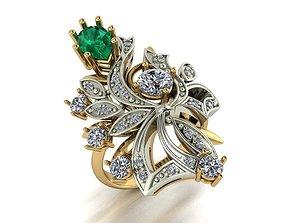 sterling 3D printable model Female Ring