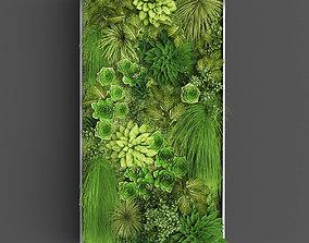 3D asset Vertical gardening 012