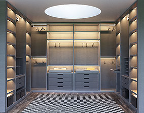 3D model SENZAFINE walk-in closet from Poliform