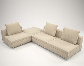 Fest corner sofa 3D model