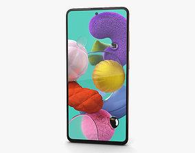 Samsung Galaxy A51 Pink 3D touchscreen
