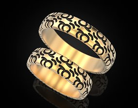 3D print model Wedding ring 78