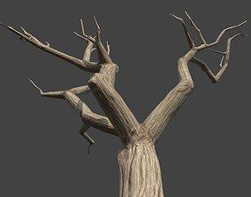 dead 3D asset low-poly Dead Tree