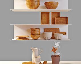 Decorative set 3D PBR
