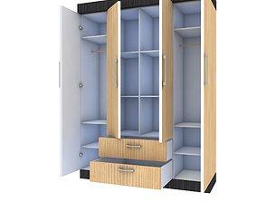 3D Mordern Cabinet