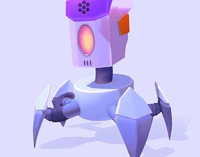 Robot Low Poly 3D model