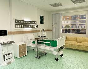 intersive 3D model Patient Room