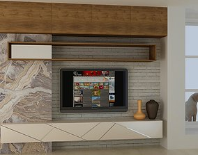 3D asset realtime WALL UNIT