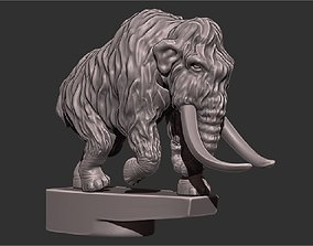 3D print model Mammoth on the hood of a car miniatures