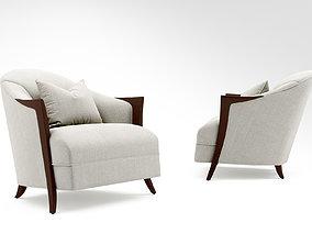 Christopher Guy Emmanuelle armchair 3D