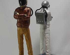 3D printable model Daft Punk